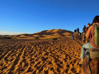 Camel Ride Moroccan Escapade