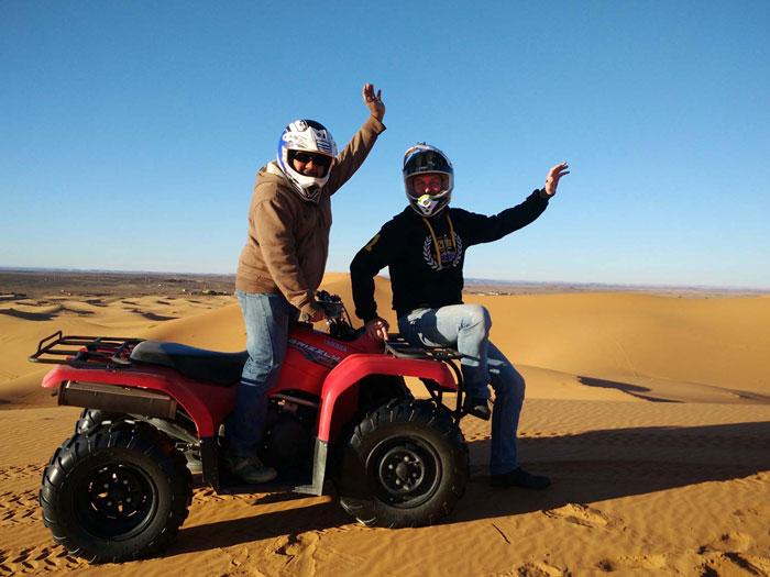 Moroccan Escapade Morocco Quad bike desert